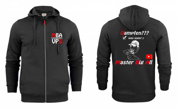 """Master Big All"" Overhead Kapuzenjacke"