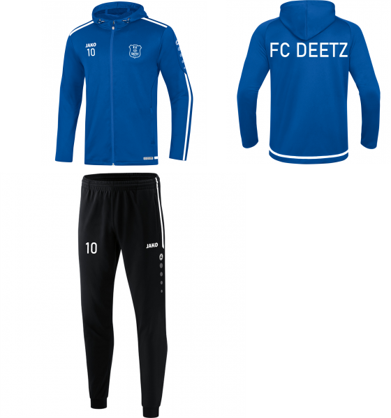 FC Deetz Tr. Anzug mit kapuze