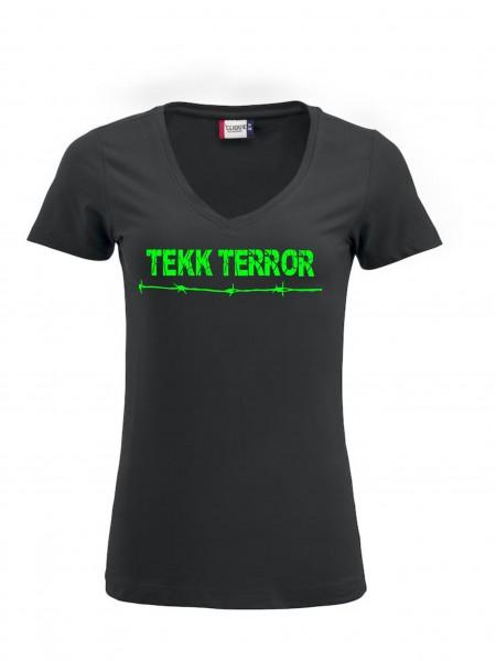 TEKK TERROR Damenshirt