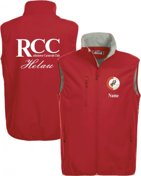 RCC Weste inkl Druck RCC
