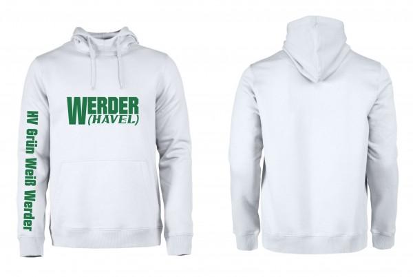 HV G-W Werder Premium-Hoodie (white)