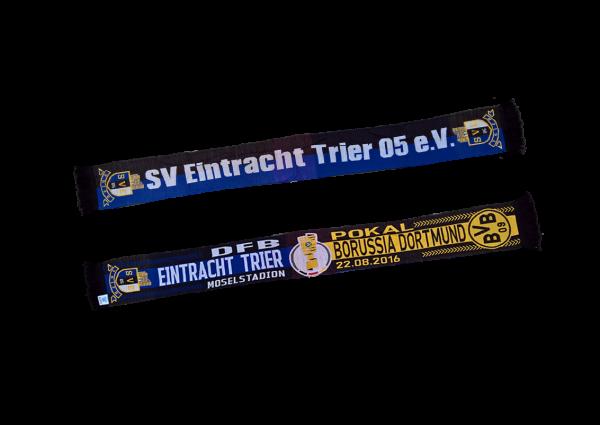 HD - Strickschal inkl. 3-farbiger Mittelteil, ca. 145x17 cm zzgl. Fransen (feinmaschiger) 100% Polya