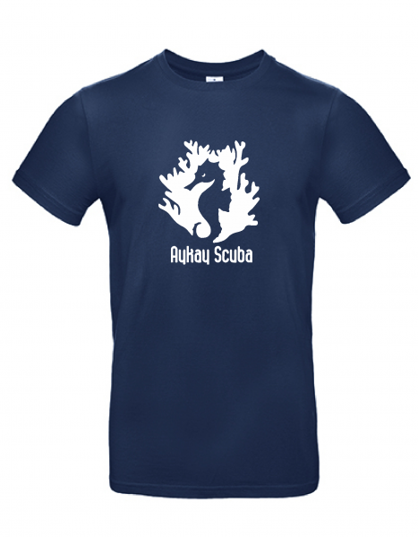 AyKay Scuba T-Shirt #E190 navy