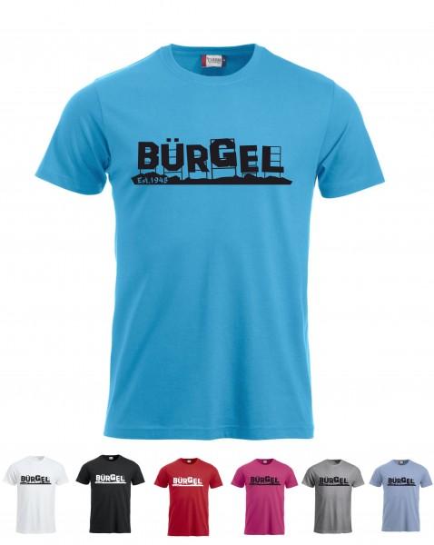 Bürgel Motiv T-Shirt (Bürgelwood)