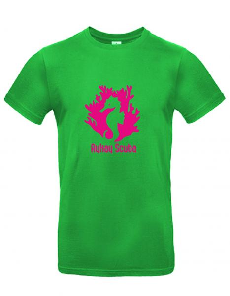 AyKay Scuba T-Shirt #E190 grün