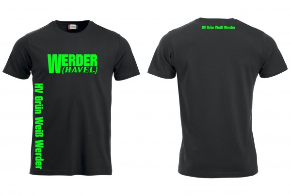 HV G-W Werder Fan T-Shirt (black)