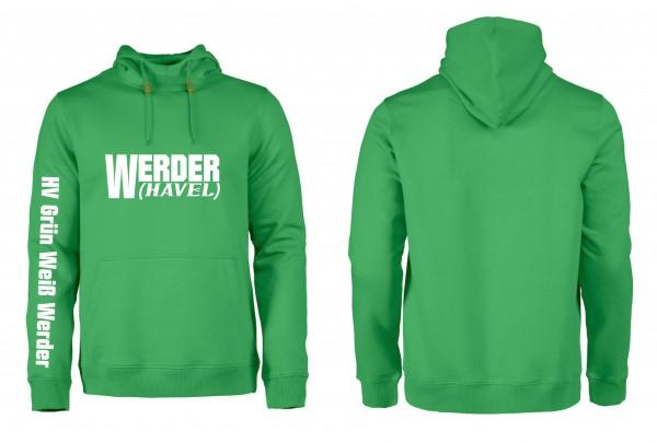 HV G-W Werder Premium-Hoodie (grün)