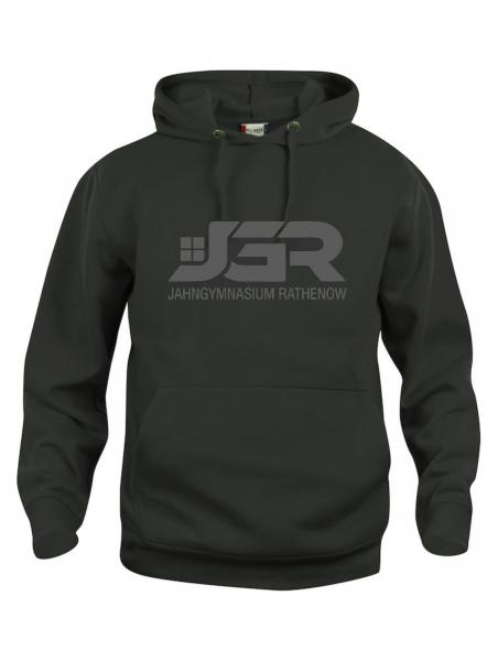 """JGR"" Classic Hoodie schwarz"