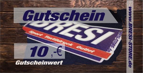 Gutschein 10,- €