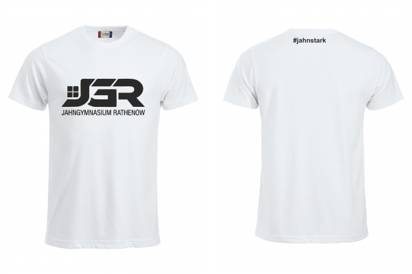 """JGR"" Classic T-Shirt Weiß"