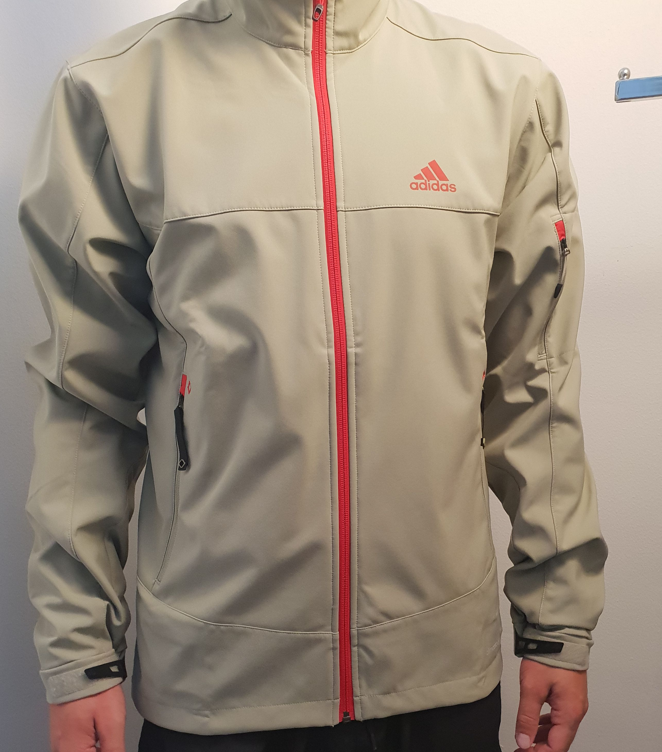 Adidas Men's Ht Softshell Jacket Tech Beige