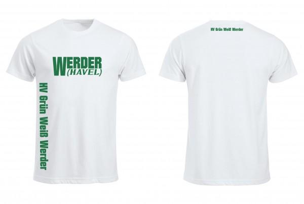 HV G-W Werder Fan T-Shirt (white )