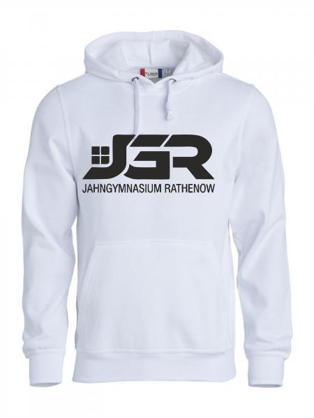 """""""JGR"""" Classic Hoodie Weiß"""