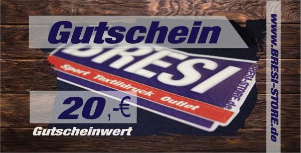 Gutschein 20,- €